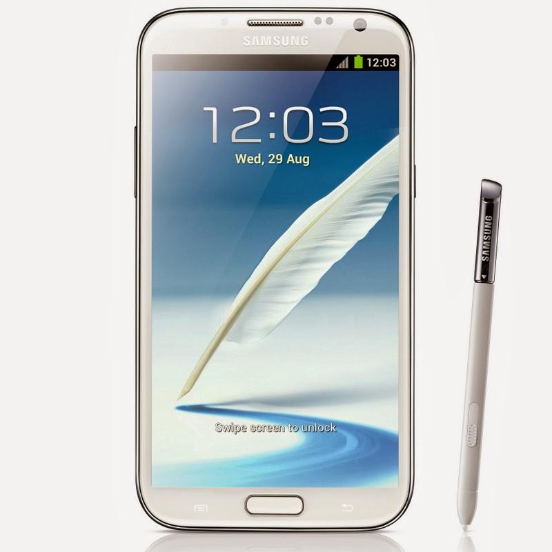Spesifikasi Dan Harga Samsung Galaxy Note II Marble White Terbaru