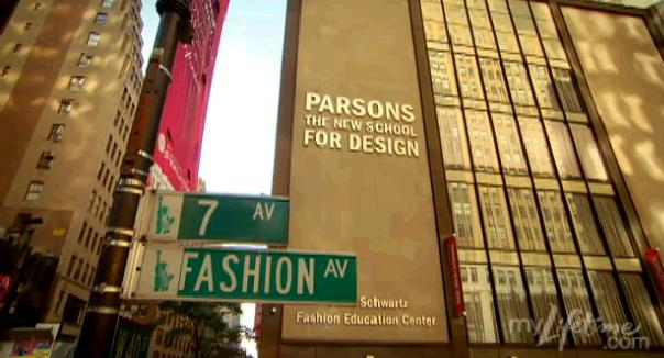 PARSONS THE NEW SCHOOL FOR DESIGN New York