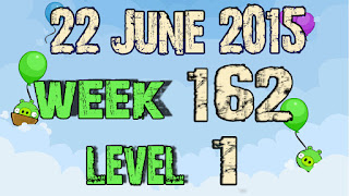 Angry Birds Friends Tournament level 1 Week 162