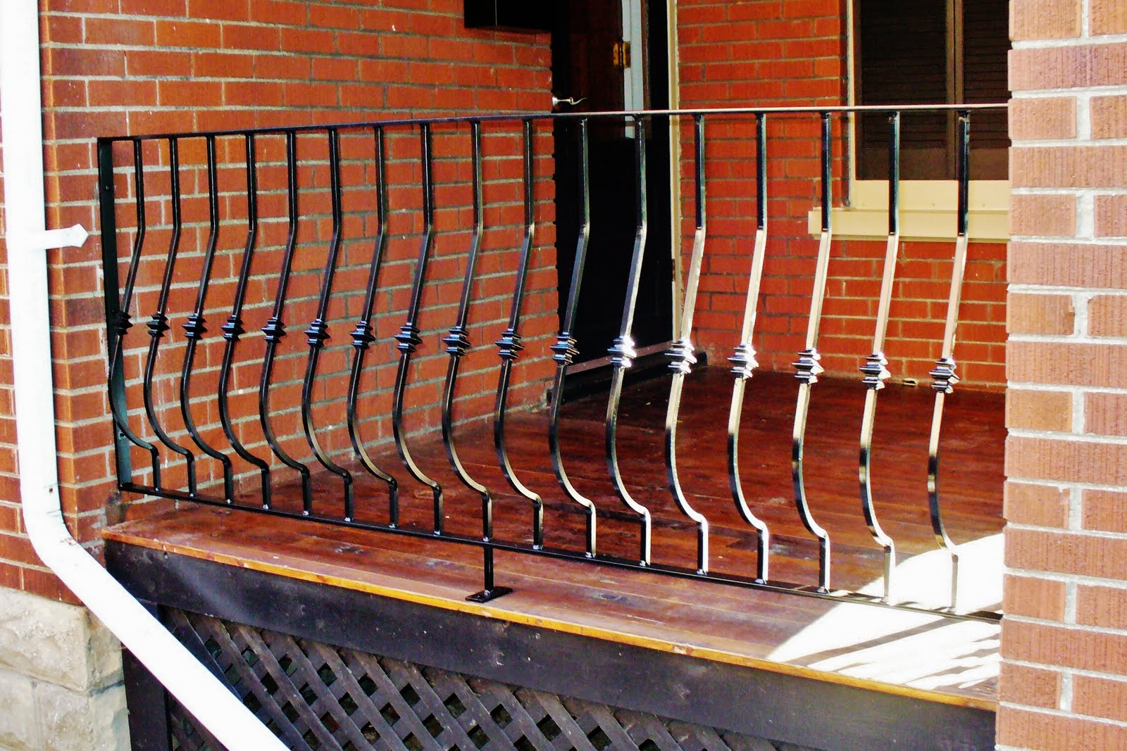 Wrought iron from julian wrought iron outdoor railings for Julian balcony