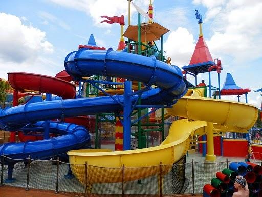 Kids slide Legoland Water park