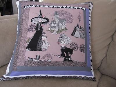 Alexander Henry Ghastlies Pillow
