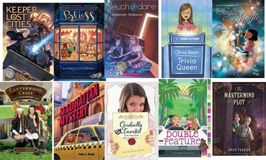 Yabooknerd Favorite Tween Book Covers 2012