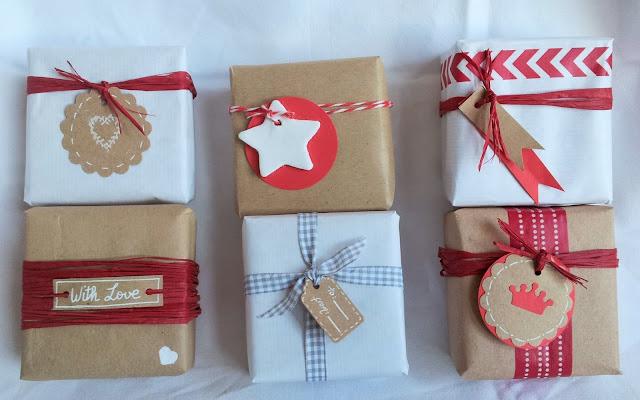 Entre sue os taller ideas creativas para envolver - Ideas para envolver regalos navidenos ...