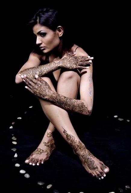 Full Body Mehndi Henna designs