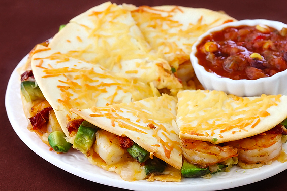 ... Things: Parmesan-Crusted Shrimp Quesadillas from Gimme Some Oven