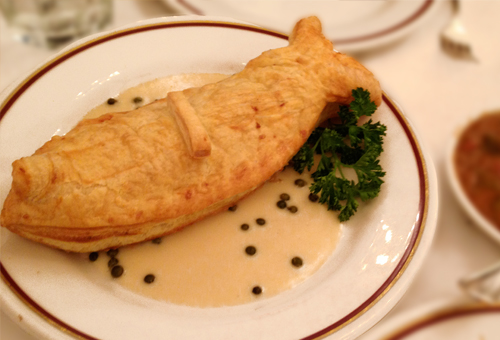 Arnaud's New Orleans Fish in Pastry