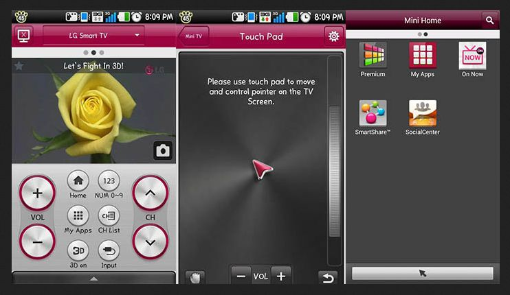 aplikasi remote tv android untuk tv LG