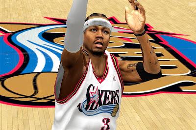 NBA 2K13 Allen Iverson Cyberface Mod