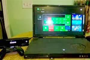 Xbox One Dimodifikasi Jadi Laptop dengan Layar 22 Inci