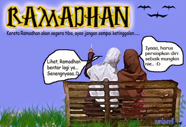 Kata-kata indah untuk bulan ramadhan, Marhaban ya Ramadhan, Kartun Motivasi Ramadhan, Menyambut Ramadhan Tiba