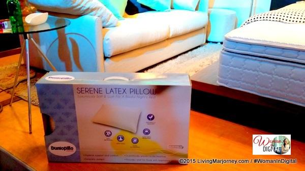 Dunlopillo Serene Latex Pillow
