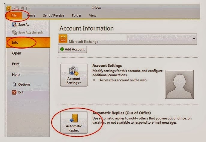 how to create automatic email in outlook 2010