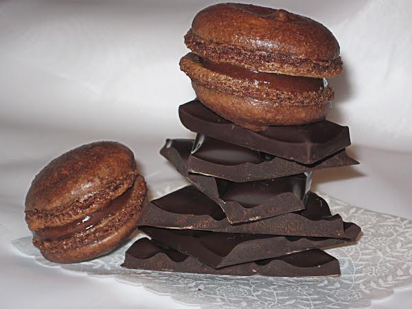 Шоколадные Макарунс