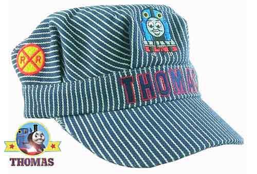 Boys Thomas The Tank Engine Embroidered Baseball Hat Navy