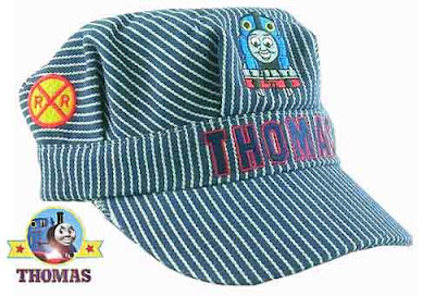 Sodor railway Thomas the tank engine and friends engineer cool hat kids theme clothing accessories