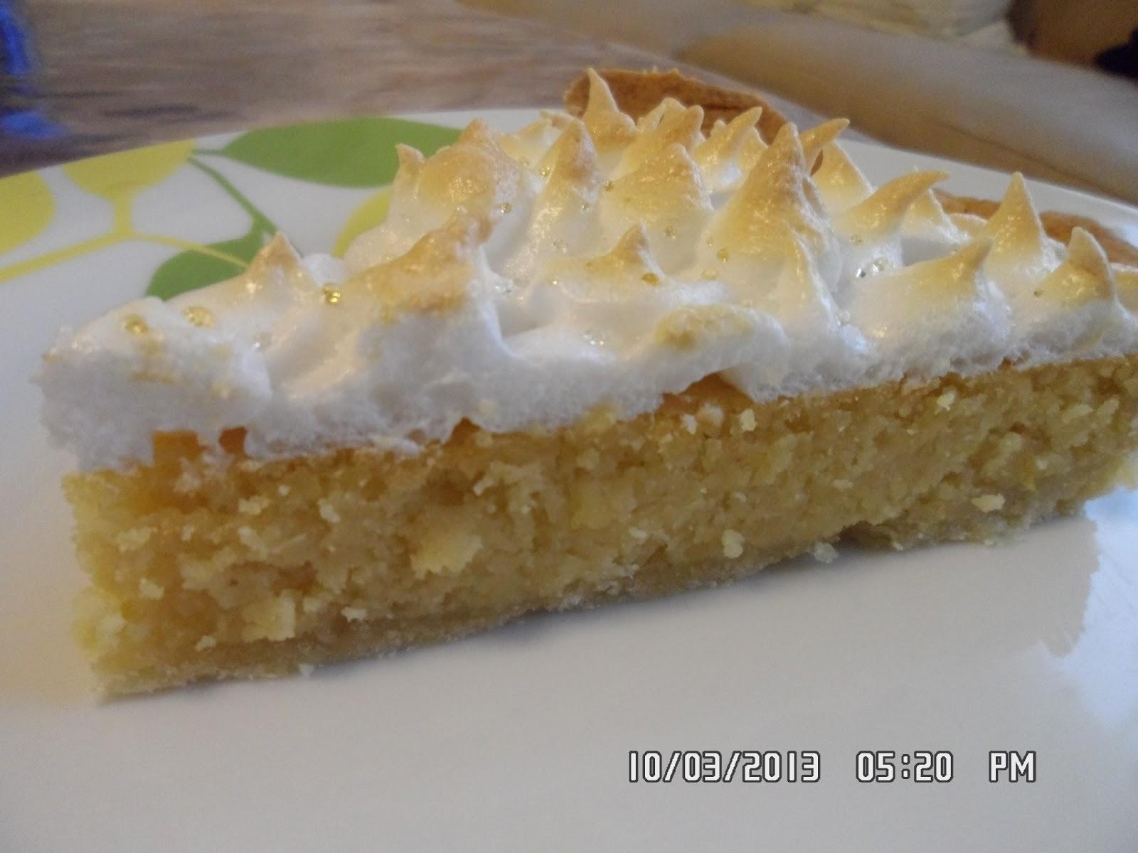 Aux pays des gourmandises de nat tarte aux citrons m ringu e recette facile - Tarte aux citrons meringuee facile ...