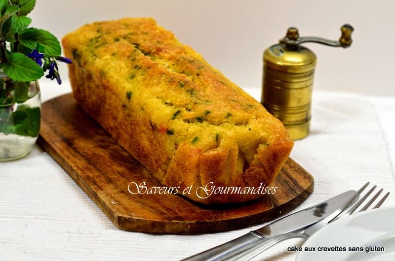 Cake exotique crevettes et coco (sans gluten).