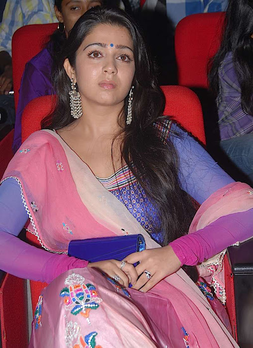 charmi at businessman audio launch, charmi new glamour  images