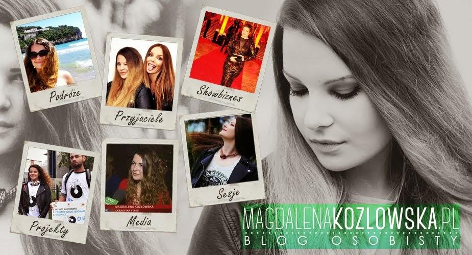 Magdalena Kozłowska - blog