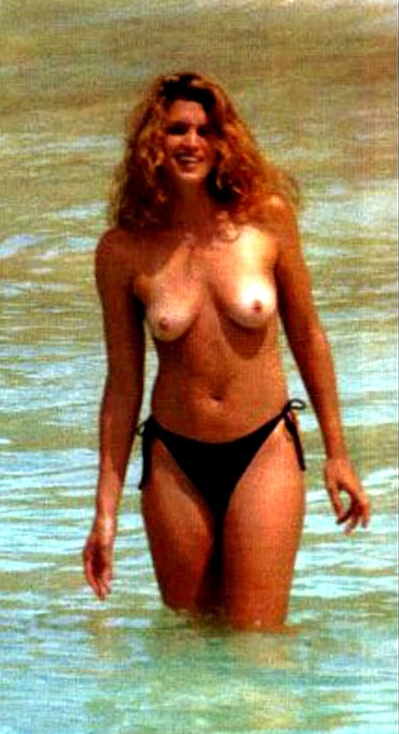 from Abel cindy crawford bare breasts