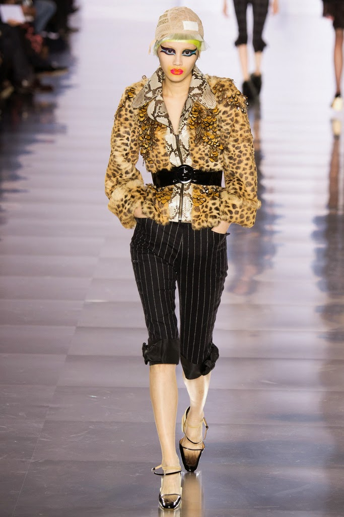 Runway report paris fashion week maison margiela fall for Fashion maison