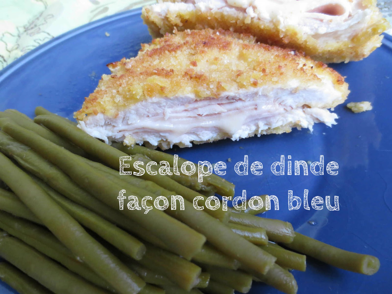 tout simple escalopes fa on cordon bleu blogs de cuisine. Black Bedroom Furniture Sets. Home Design Ideas