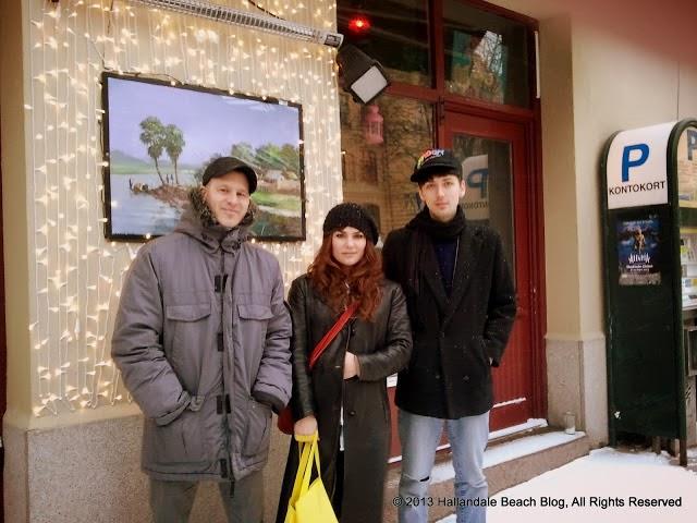 Andreas Jismark, Anni Bernhard and Mats Jönsson