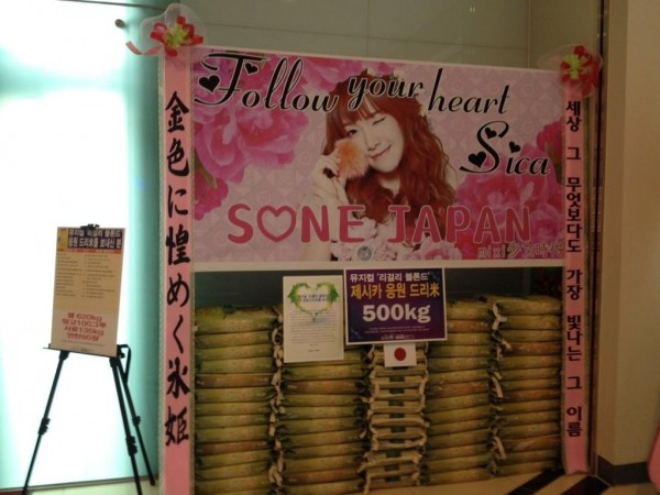 SONE Japan Donation Jessica Musical
