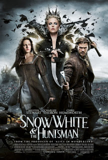 Snow White and the Huntsman, Charlize Theron, Kristin Stewart, movie review