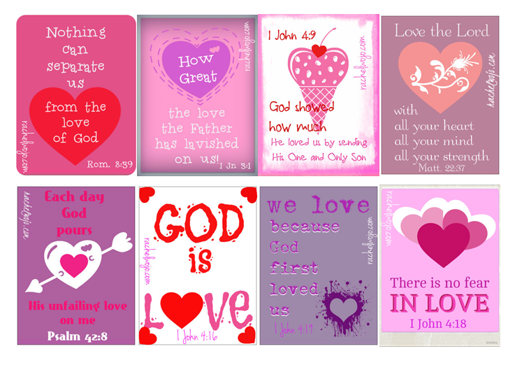 What Love IsValentines Day for Kids and the Whole Family – Christian Valentine Cards for Kids