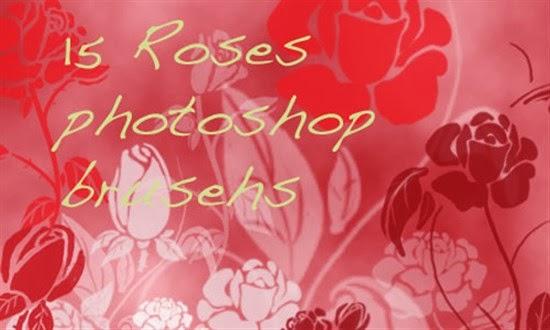 Rose Brushes for Photoshop