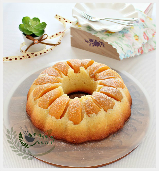 Peach Bundt Cake - Anncoo Journal