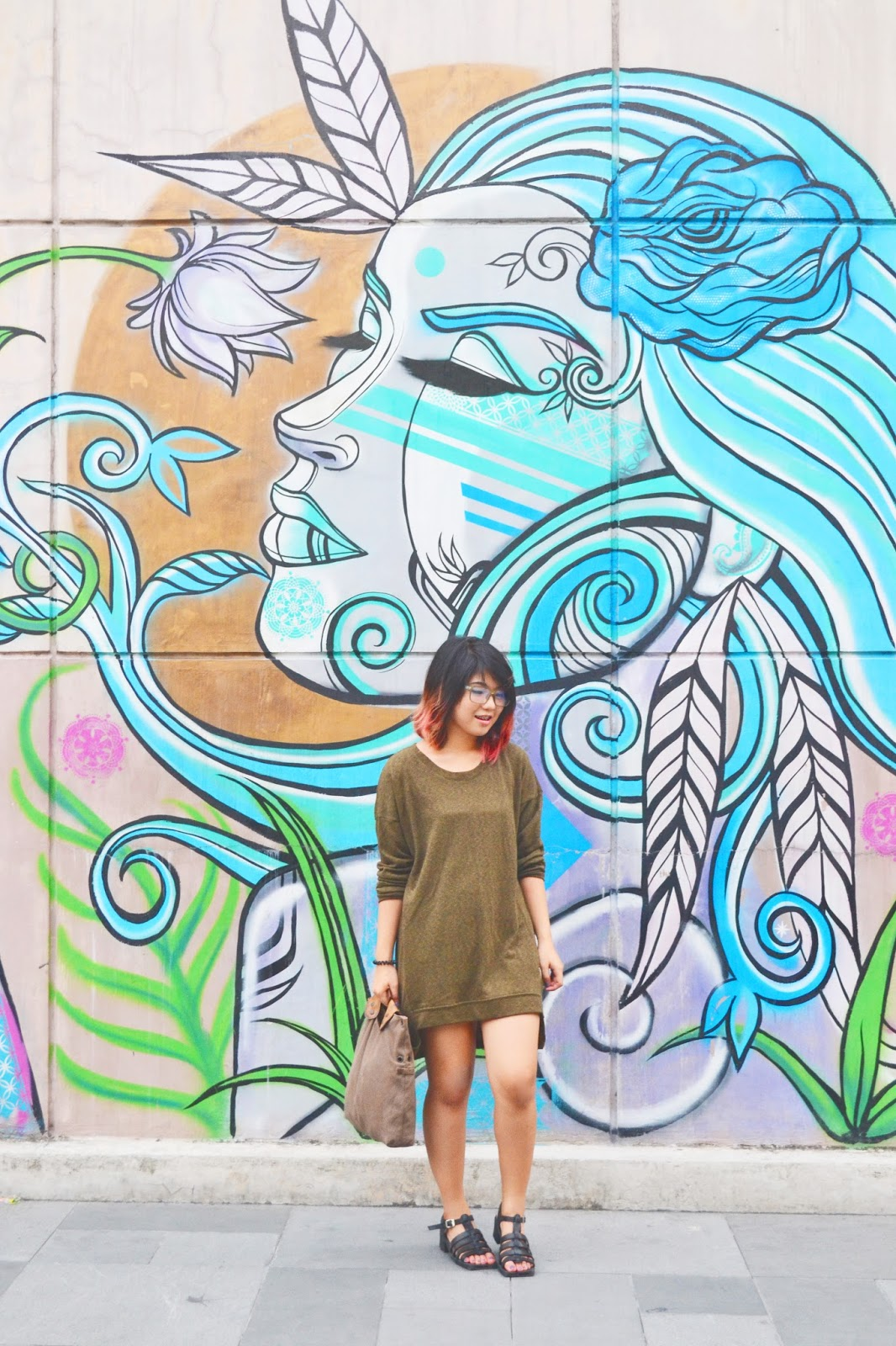 peter pan imahenasyon here s another ootd mural adventure shoot that we had around bgc bonifacio global city the effort for this craziness were all