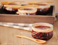 Granadas con vino al aroma de canela