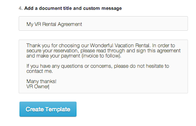 How to use Electronic Signatures with your Vacation Rental – Vacation Rental Agreement