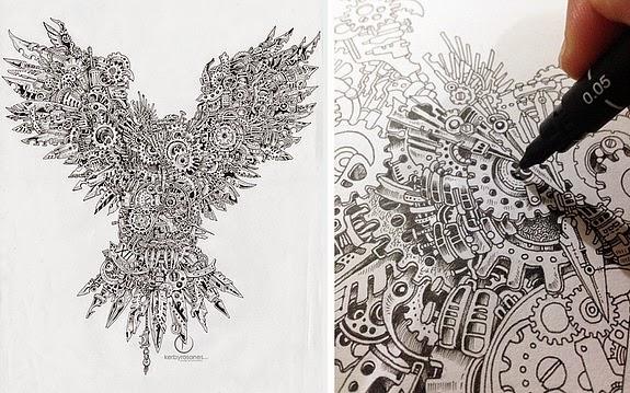 NCHS Art Elmore Drawing