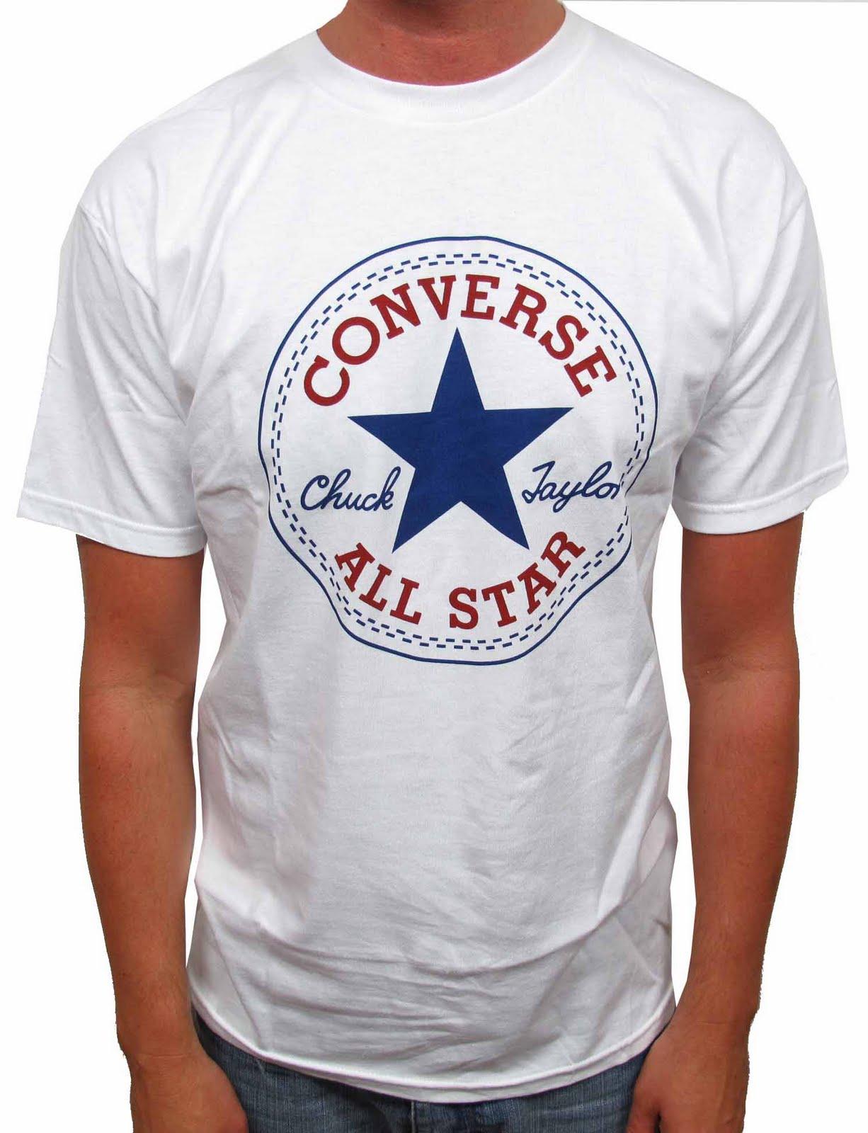 1f94e4d5e6a6 Grey Converse T Shirt Mens