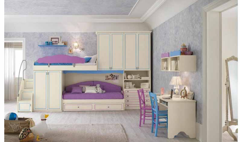 kinder schlafzimmer. Black Bedroom Furniture Sets. Home Design Ideas