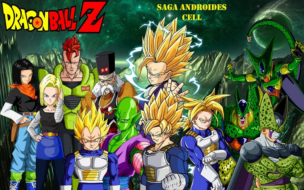 Dragon Ball Z Saga De Cel Mkv Latino Mf