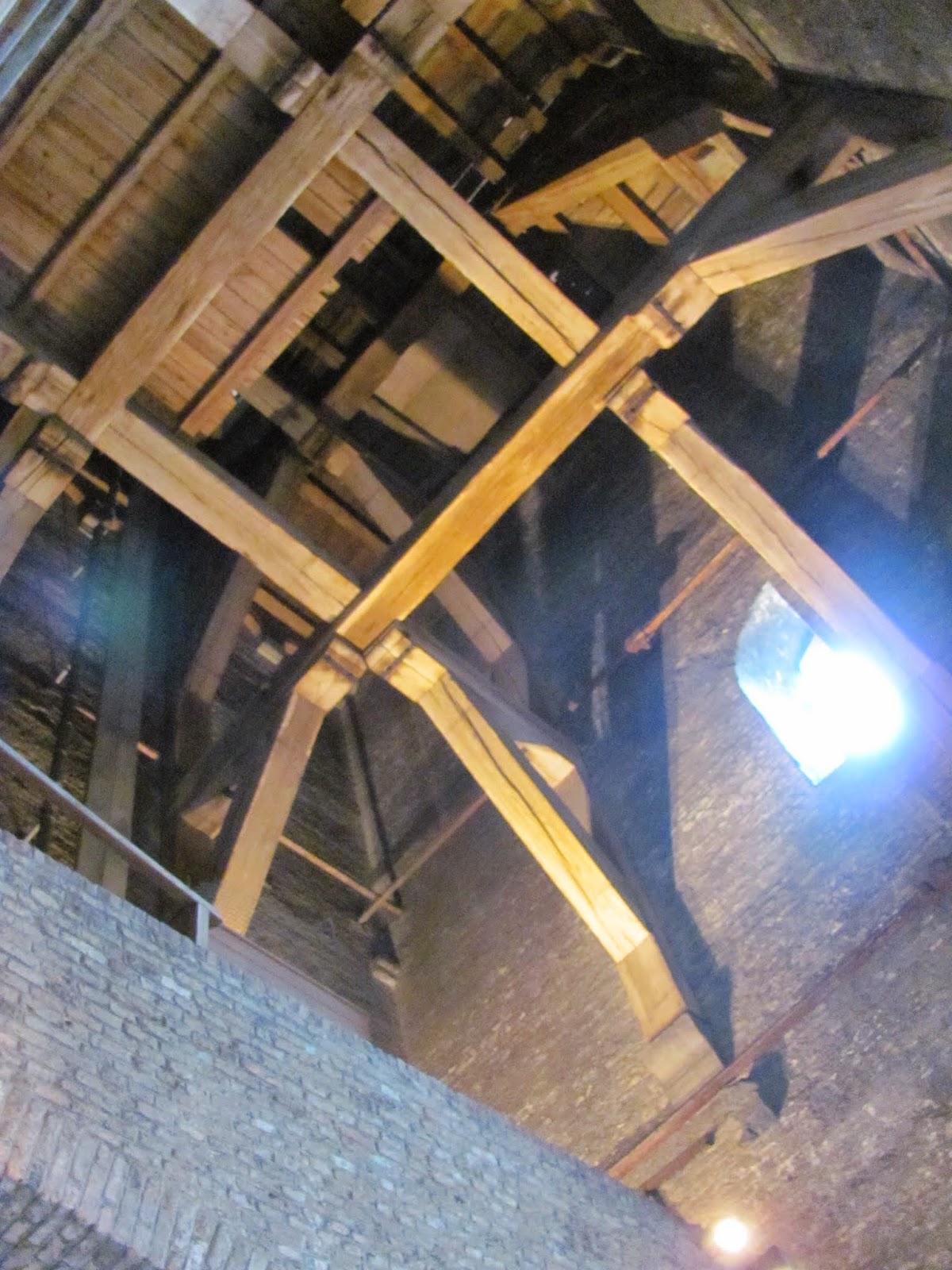 Bell Tower Innards Bruges, Belgium