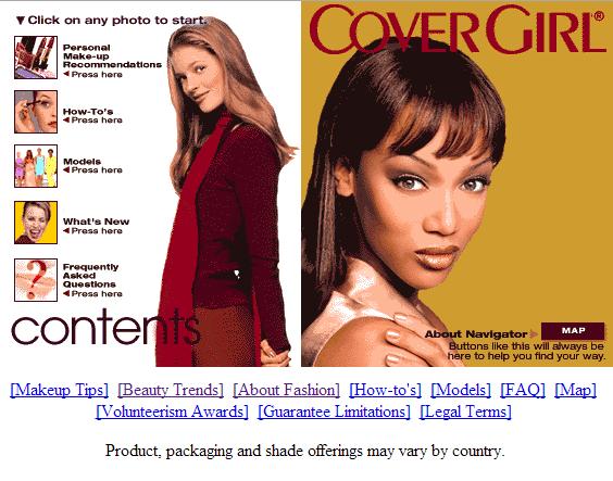 CoverGirl en 1997
