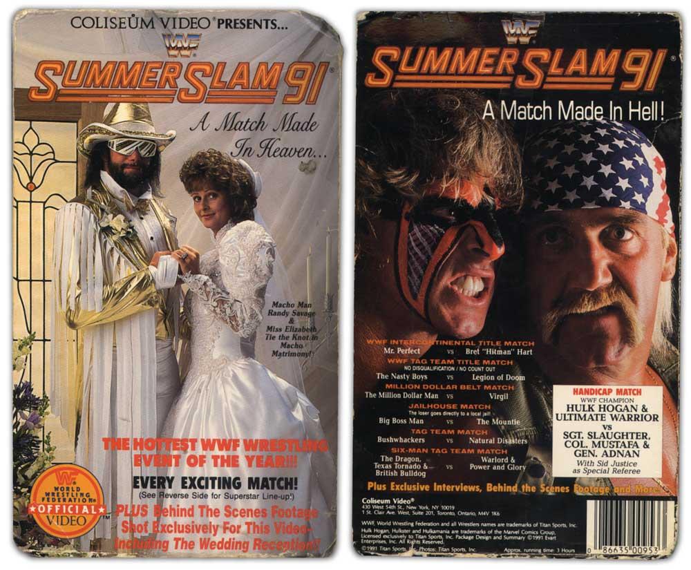 Resultado de imagen para WWF – SummerSlam (1991)