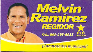 Melvin  Ramírez el regidor que debes tener