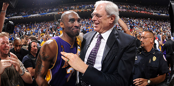 2009 NBA Finals - Kobe bryant and phil Jackson - Champions