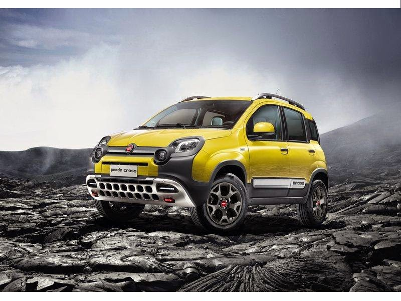 news cars new fiat panda cross model year 2015. Black Bedroom Furniture Sets. Home Design Ideas