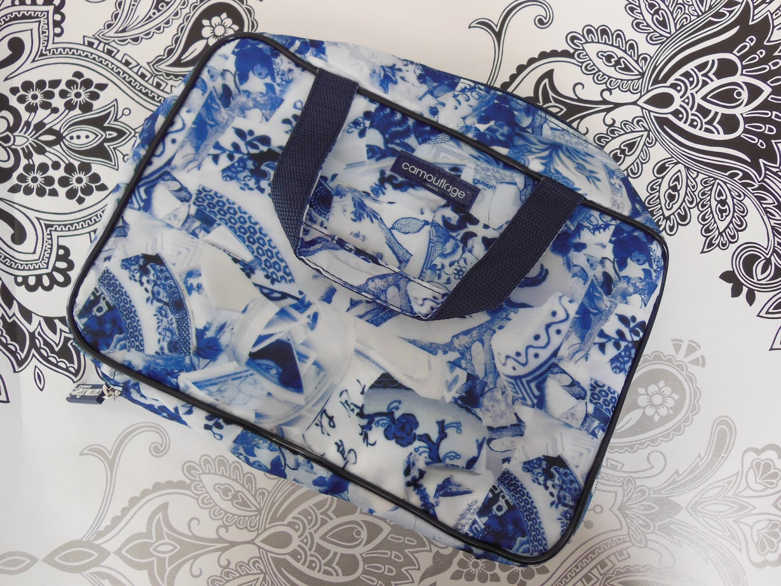 Camouflage company makeup bags