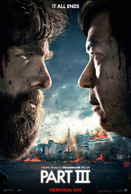 "The Hangover Part III ""The End"" Character Movie Posters - Zach Galifianakis as Alan & Ken Jeong as Mr. Chow"