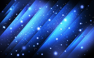Abstract Blue lines with Stars HD wallpapers
