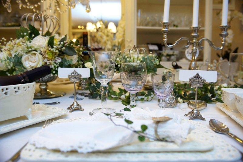 ideer til borddækning jul